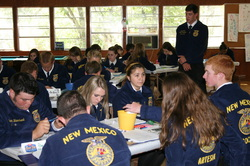 New Mexico FFA Officer Training