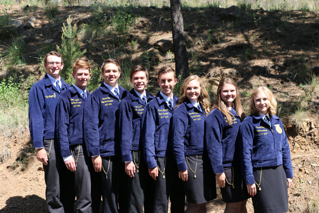 PictureNew Mexico FFA State Officers
